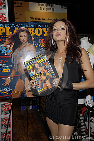 WWE Diva Maria Kanellis appearing live. Editorial Photography