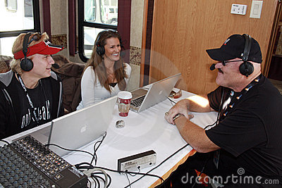 WWE Sgt. Slaughter radio appearance Editorial Image