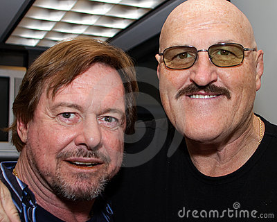 WWE Sgt. Slaughter and Rowdy Roddy Piper Editorial Photography