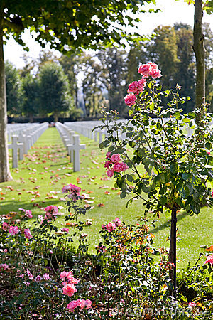 WWI American Cemetery at Oise-Aisne, France