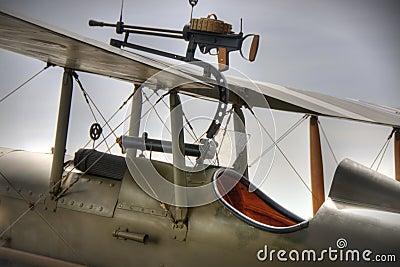 WWI British SE5a Cockpit