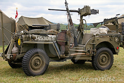 Wwii Jeep Royalty Free Stock Photography Image 857707