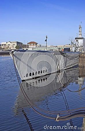 WWII Submarine, USS Cobia