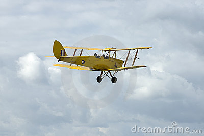 WWII Tiger Moth at Duxford airshow