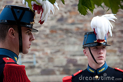 WWII Victory Day Tribute in France Editorial Stock Photo