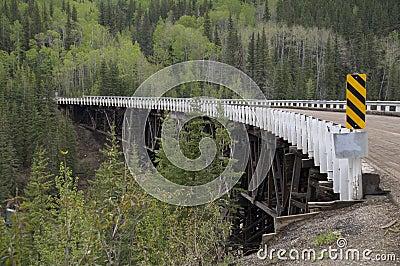 WWII Vintage Kiskatina River Bridge