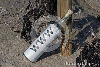 Www in a bottle