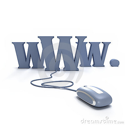 Free WWW  Connected To Mouse Stock Images - 2900074