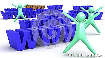 WWW Illustration