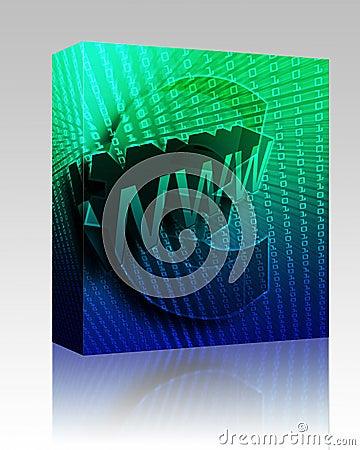 WWW Internet box package