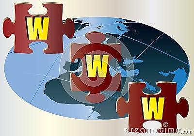 WWW Jigsaw Puzzle