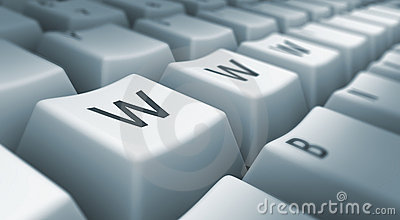 Www on keyboard