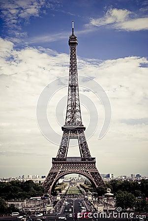 Wycieczka turysyczna Eiffel
