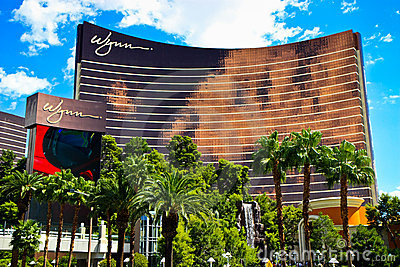Wynn hotel and casino, Las Vegas Editorial Stock Image