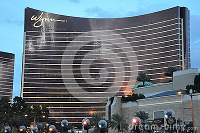 Wynn Hotel and Casino in Las Vegas Editorial Stock Photo
