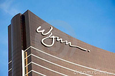 Wynn Las Vegas Editorial Stock Photo