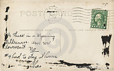 Wyoming Post Card