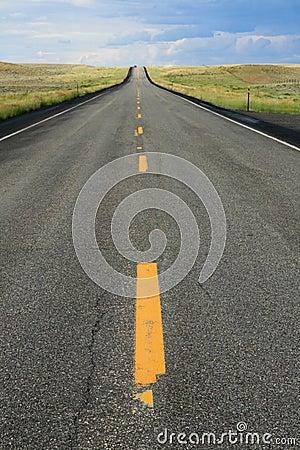 Free Wyoming Road Stock Image - 11169411