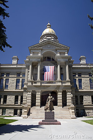 Free Wyoming State Capitol Building Stock Images - 6145074