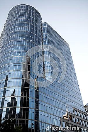 Wysoki wzrost budynku.