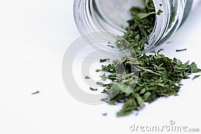 Wysuszeni butelek ziele