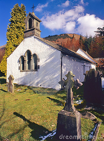 Wythburn church, Thirlmere, Cumbria