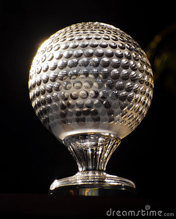 Wyzwania miasta golfa nedbank ngc2010 słońca trofeum Zdjęcie Stock Editorial