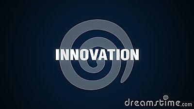 Wyzwanie, sposobność, Kreatywnie, ulepszenie, sukces, tekst animacja 'innowacja' royalty ilustracja