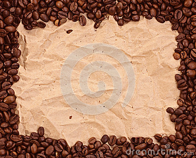 Wzór z kawą