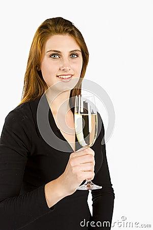 Wznieść toast szampanem