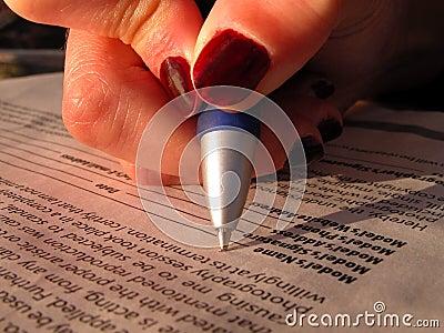 Wzór uwolnienia podpisanie