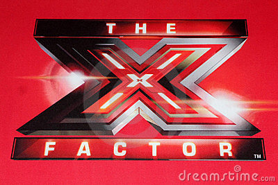 X Factor Logo at the FOX s Editorial Image
