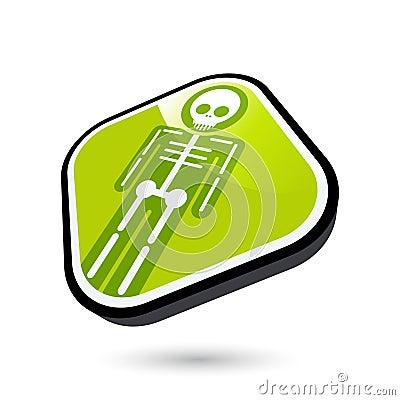 X-ray button