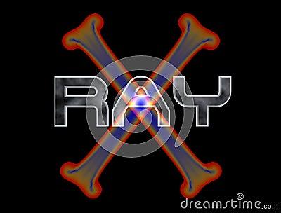 X-ray Logo Stock Images - Image: 5292114