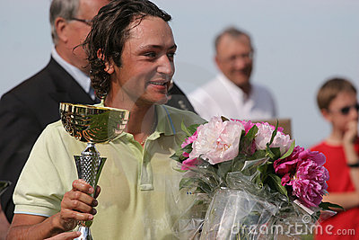 Xanthopoulos,Golf, Alps tour,  Pléneuf 2006 Editorial Photo