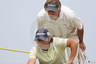 Xanthopoulos,Golf, Alps tour,  Pléneuf 2006 Editorial Image