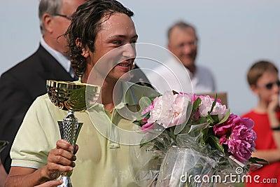 Xanthopoulos,Golf, Alps tour,  Pléneuf 2006 Editorial Photo
