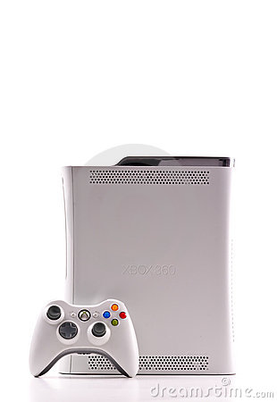 Xbox 360 by Microsoft Editorial Image