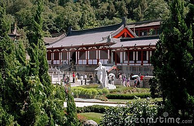 Xi an, China:  Hua Qing Chi Palace Editorial Stock Photo