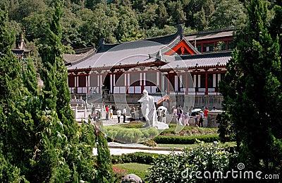 Xi an, China:  Hua Qing Chi Palace Editorial Stock Photo