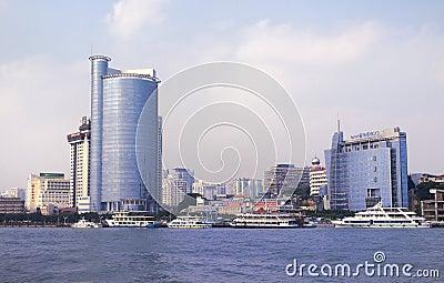 Xiamen City,China, Editorial Image