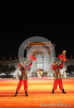 Xian City, China Editorial Image