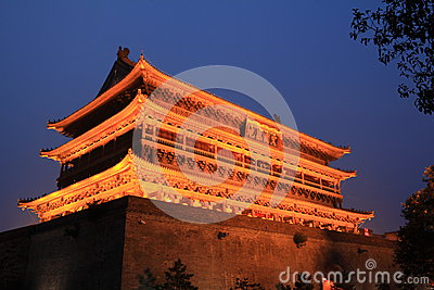 Xian drum tower