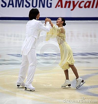 Xiaoyang YU & Chen WANG (CHN) Editorial Stock Photo