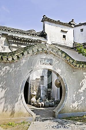 Xidi Cun - doorway