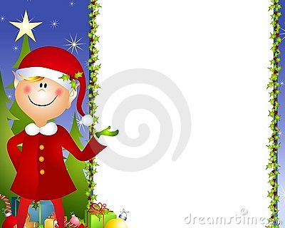 Xmas Elf Background