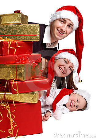 Free Xmas Family Stock Images - 3730594