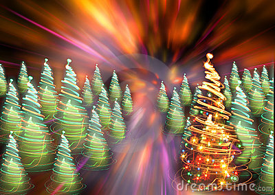 Xmas forest