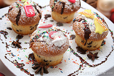 Xmas muffins