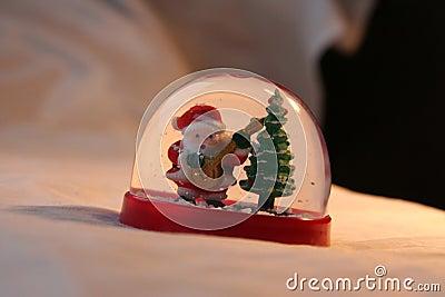 Xmas: rocking santa